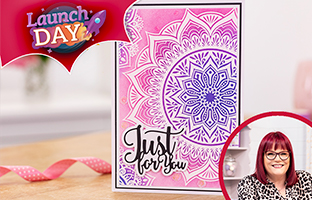 Launch Day - 1st June - NEW Resist Silhouette Stamps & Creative Expressions