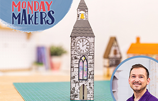 Monday Makers - 1st March - Country Village Dies, Rotation Stamps & Sara Sig Caring Thoughts