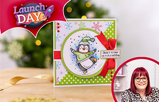 Launch Day - 2nd September - NEW Snowmen Stamps