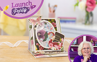 Launch Party - 2nd Feb - Nitwit, Hunkydory, Preview of NEW Rotating Stamps with Fiona & Joe
