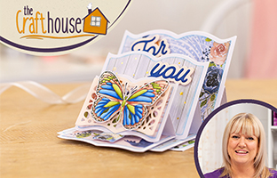 The Craft House - 3rd July - Triple Easel with Enveloper Bundle