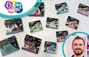 Colour Me Happy - 4th June - Spectrum Noir Goody Bags & Advanced Discovery Kits