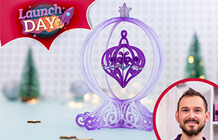 Launch Day - 6th July - NEW 3D Ornament Dies
