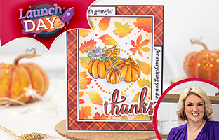 Launch Day - 6th September - Launch Day - NEW Natures Garden Autumn Blessings Collection