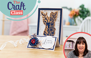 Craft Class - 7th March - Stencils, Third Party Stock & Tools, Floral Animals