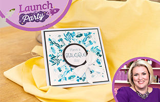 Launch Party - 9th Feb - Rotation Stamps , Preview of Floral Animal Dies & CACD Big Scene