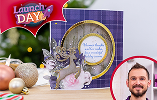 Launch Day - 13th September - NEW Reindeer Mini Collection