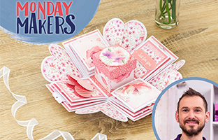 Monday Makers - 13th September - Exploding Box Dies, Spiral Pop Outs & Interchangeable Sentiments