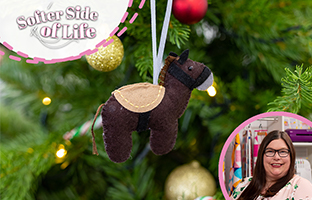 Softer Side of Life - 13th June - NEW Build Applique Christmas Dies