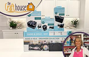 The Craft House - 14th August - Totally Tiffany Take Over TT Clip on Storage & TT Vinyl Storage