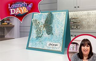 Launch Day - 14th September - NEW Pigment Inks & Stencils Bumper Kit