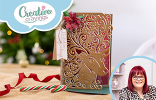 Creative Cravings - 15th September - Christmas Intri-lace Dies, Sara Signature Nutcracker Box and Sharon Callis Flower Fairies