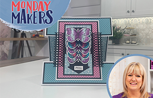 Monday Makers - 16th August - Shaped Waterfall Dies, Nature's Garden Bee-Youtiful