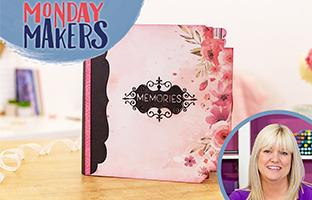 Monday Makers - 19th April - Album Spine, Floral Frames, Penny Sliders