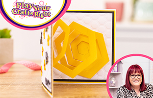 Play Your Crafts Right - 20th March - Spiral Pop Outs