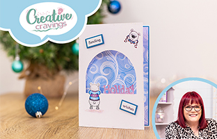 Creative Cravings - 21st July - Christmas Interchangeables, Christmas Peek-a-Boo & Christmas Embossing Folders