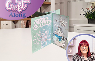 Craft Along - 22nd August - Sara Signature Watercolour Christmas Collection