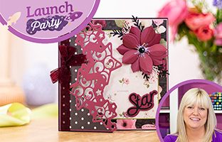 Launch Party - 23rd March - Eclipse Stamps, Pop Out Shaped Sentiments