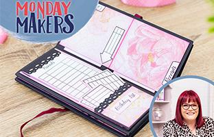 Monday Makers - 26th April - Sharon Callis, Exploding Box & Organiser