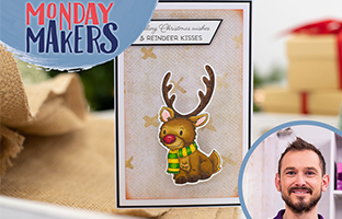 Monday Makers - 27th September - Christmas Wobblers, Christmas Layering Scene Stamps & Jigsaw Dies