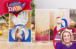 Launch Day : Nature's Garden Nativity - Monday 27th