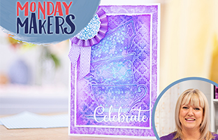 Monday Makers - 28th June - Sara Signature Garden Party, Shaped Waterfall Dies
