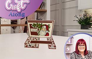 Craft Along - 28th September - Christmas Floral Stamp & Dies