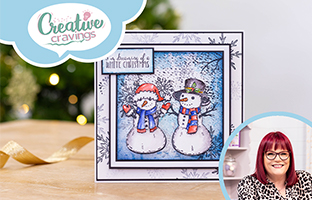 Creative Cravings - 29th September - Christmas Collage Stamps & Sara Signature Vintage Diary