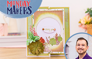 Monday Makers - 29th March -  Inverted Nesting Dies, Eclipse Stamps