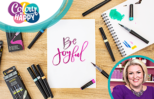 Colour Me Happy - Sparkle Pens & Ink Jars with Sara - Friday 31st July