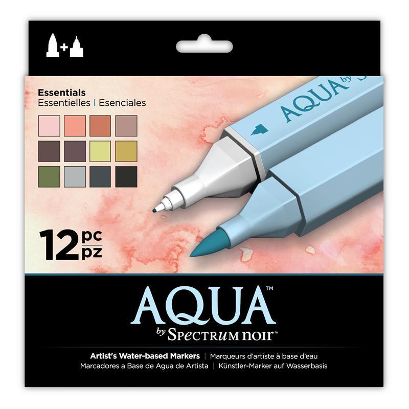 Aqua Markers - Set of 12 Markers