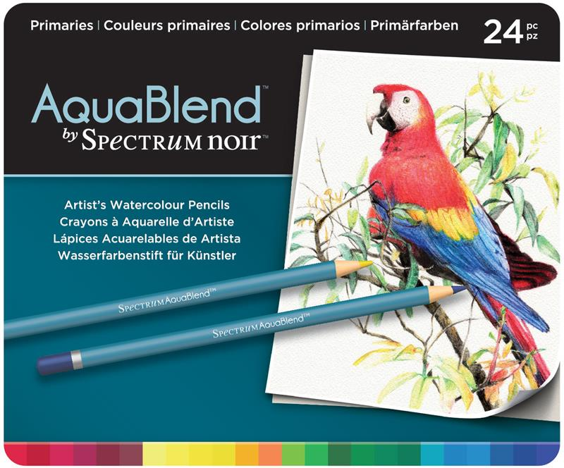 AquaBlend Watercolour Pencils