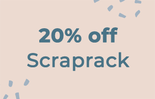 20% off Selected ScrapRack products