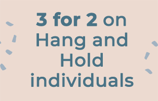 3 for 2 on Hang and Hold