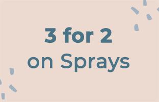 3 for 2 on Sprays