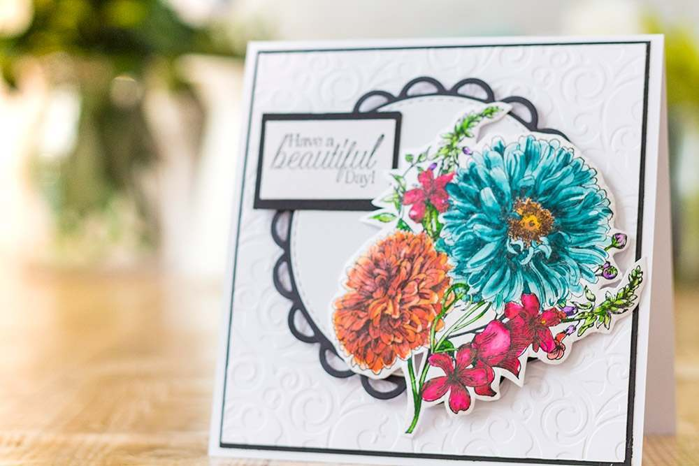 Stamping with Crafter's Companion - September 2018