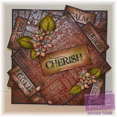 Textures embossing folders and stamps