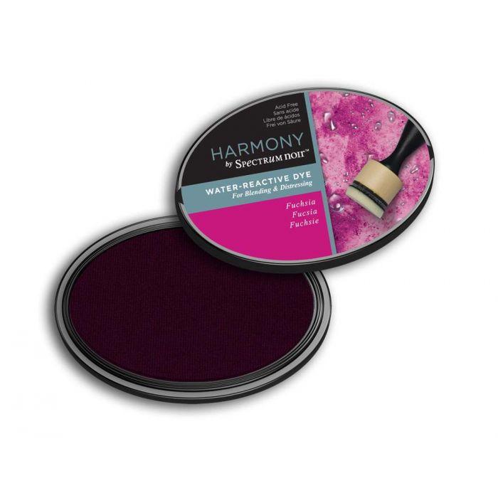 Harmony by Spectrum Noir Water Reactive Dye Inkpad - Fuchsia