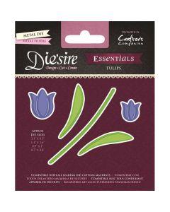 Die'sire Essentials Metal Die - Tulips