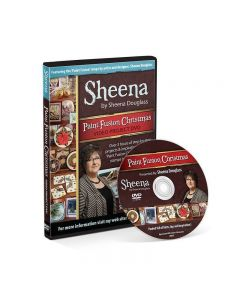Sheena Douglass Paint Fusion Christmas DVD