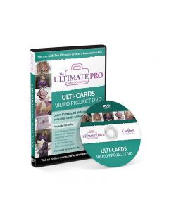 Crafter's Companion The Ultimate Pro - Ulti Cards Video Project DVD