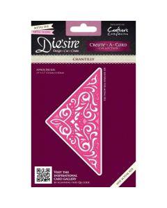 Die'sire Create-a-Card Metal Die - Chantilly
