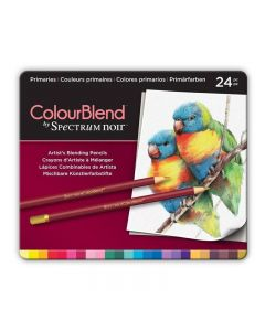 ColourBlend by Spectrum Noir 24 Pencil Set - Primaries