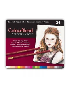 ColourBlend by Spectrum Noir 24 Pencil Set - Essentials
