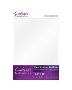 Crafter's Companion Clear Cutting Platform for eBosser and Cut n' Boss (A Plate)
