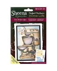 Sheena Douglass Perfect Partners Home Life Metal Die - The Perfect Mix