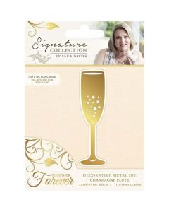 Sara Signature Together Forever Collection Metal Die - Champagne Flute
