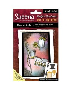 Sheena Douglass Perfect Partners Day of the Dead Metal Die - Union of Souls