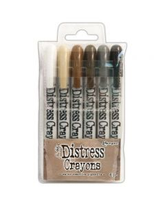 Tim Holtz Distress Crayons - Set 3