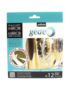 Pebeo Mirror Effect Metal Leaf - Gold